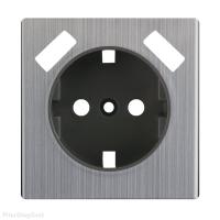 WERKEL Накладка для розетки USB (глянцевый никель)