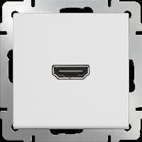 WERKEL Розетка HDMI (белый)