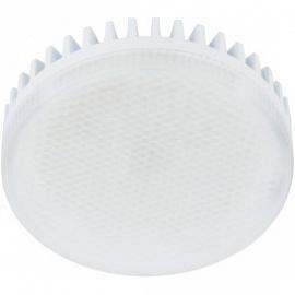 Лампа светодиодная GX53 10Вт EcolaTablet 6000K матовая 27х75