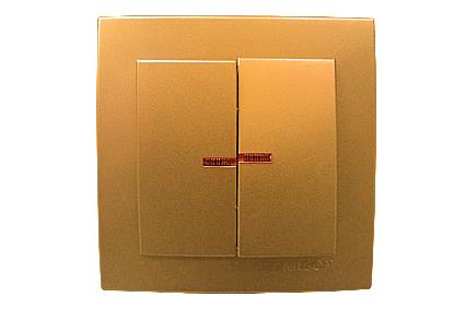 Nilson Touran золото Выкл-ль 2кл+свет