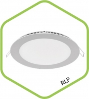 Св-к LED RLP-eco 3Вт 4000К 240Лм 90/75мм IP40, IN HOME