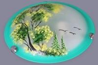 Св-к настенный НПБ 60-001 пейзаж зеленый