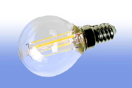 Лампа светодиодная IN HOME E14  5Вт шар прозрачн. 4000К 450Лм