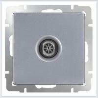 WERKEL ТВ розетка оконечная (серебро)