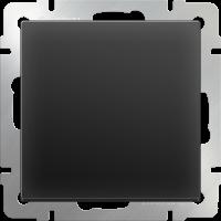 WERKEL Выключатель 1-кл. проходной (черный) WL08-SW-1G-2W