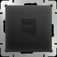 WERKEL Розетка Enternet RJ-45 (черный) WL08-RJ-45