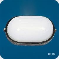 Св-к Italmac Round WP 602002 овал черный, б/р, 60Вт IP65 Распродажа!
