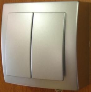 Nilson Themis серебро выкл. 2кл. 10А