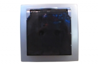 Nilson Themis серебро розетка с/з с крыш. 16А