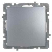 Nilson Touran серебро механизм выключатель 1кл прох.