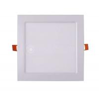 Св-к LED 9Вт квадрат JazzWay PPL-S 6500K 600lm белый IP40 145мм