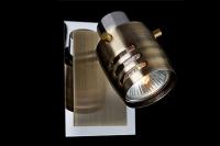Светильник СПОТЫ - 23463/1 хром/античная бронза