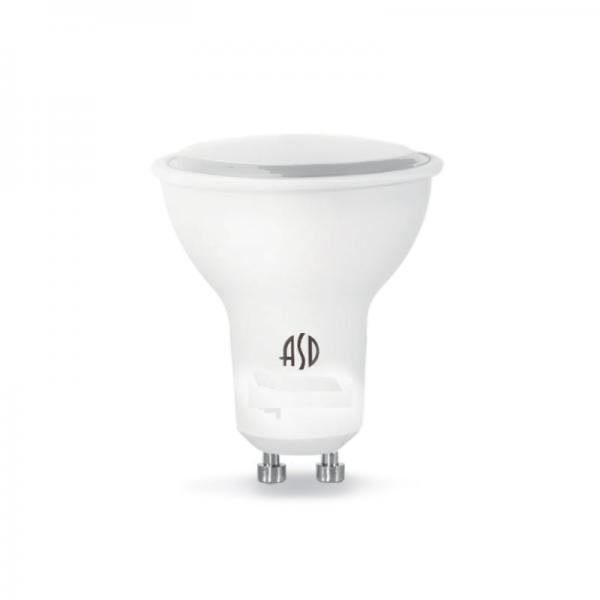 Лампа светодиодная GU10 7.5Вт ASD 6500К 600Лм