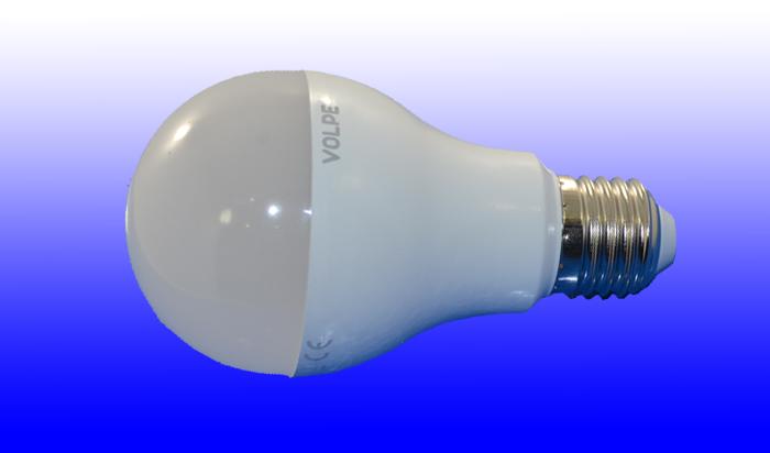 Лампа светодиодная Volpe E27 18Вт A60 матовая 4000К 1600Лм