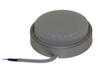 Светильник Ecola пластик накладной DGX5318 серебро