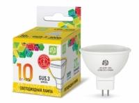 Лампа светодиодная MR16 220V_10Вт ASD 3000K