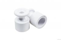 Изолятор BIRONI белый пластик