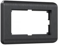 WERKEL Stream Рамка для двойной розетки (графит) WL12-Frame-01-DBL