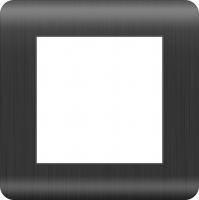 WERKEL Stream Рамка на 1 пост (графит) WL12-Frame-01