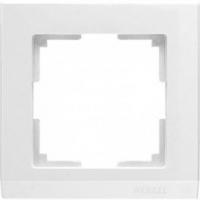 WERKEL STARK Рамка на 1 пост (белый) WL04-Frame-01