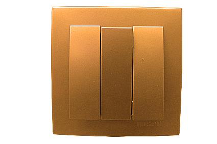 Nilson Touran золото Выключатель 3кл