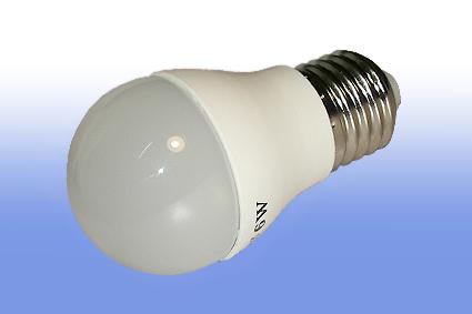 Лампа светодиодная Volpe E27  6Вт шар матовая 3000К 450Лм
