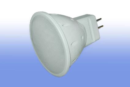 Лампа светодиодная MR16 220V 5Вт Volpe 3000K матовая