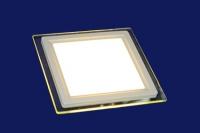 Св-к LED Альфа Свет LF 401 6W квадрат d100*75 3000K (28717)