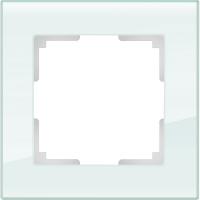 WERKEL FAVORIT Рамка на 1 пост (белый, стекло) WL01-Frame-01