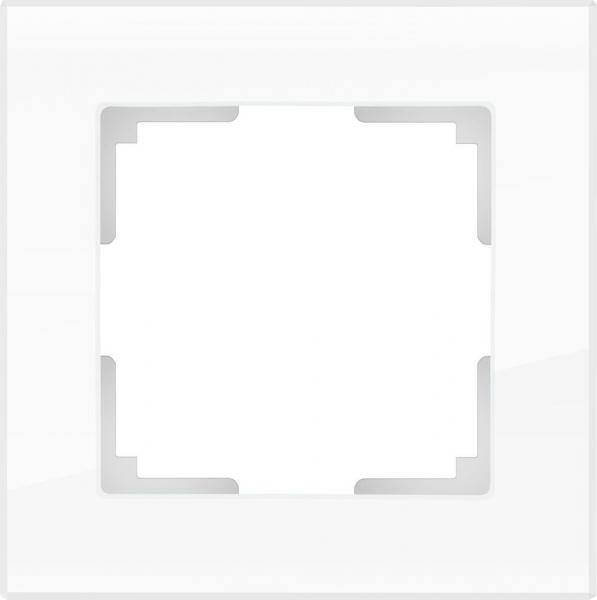 WERKEL FAVORIT Рамка на 1 пост (белый)