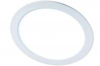Св-к LED 6Вт круг JazzWay PPL-R 6500K 400lm IP40 белый d120мм