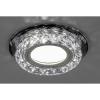 Св-к Feron CD878+LED черный/прозрачный