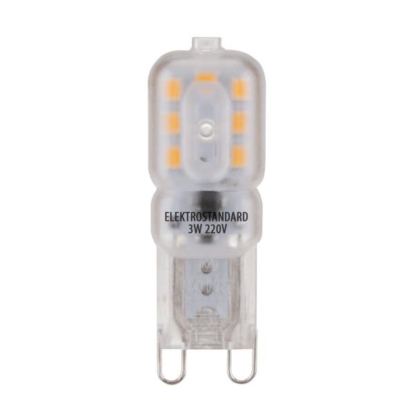 Лампа светодиодная G9 10Вт Ладья 4100К
