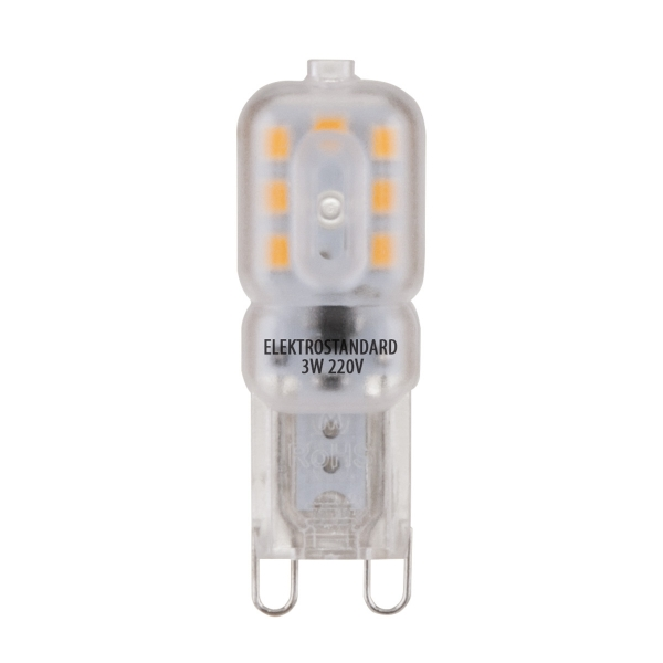 Лампа светодиодная G9 10Вт Ладья 6000К
