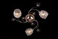 Люстра Евросвет Цветная классика - 9677/3 золото