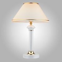 Наст. лампа Евросвет Classico-60019/1 глянцевый белый