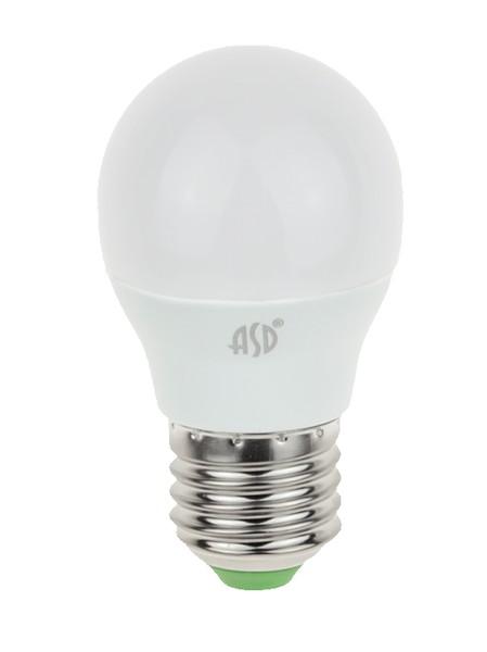 Лампа светодиодная ASD E27  7.5Вт шар standard 3000К 675Лм