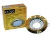 Светильник Ecola GX53 поворотный золото