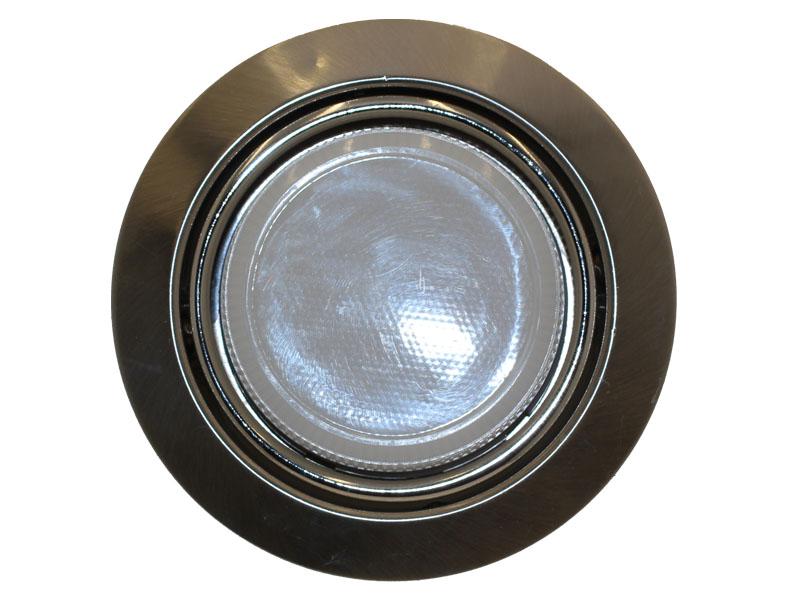 Светильник Ecola GX53 поворотный сатин хром