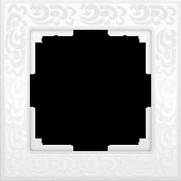 WERKEL FLOCK Рамка на 1 пост (белая) WL05-Frame-01-white
