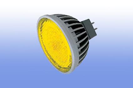 Лампа светодиодная MR16 220V 4.2Вт Ecola желтый 47х50