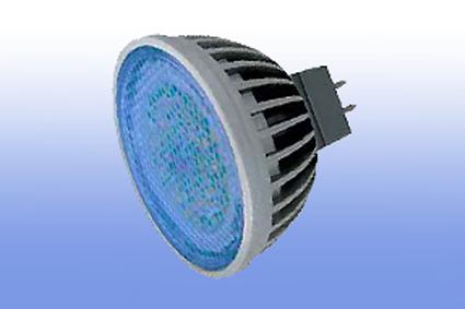 Лампа светодиодная MR16 220V 4.2Вт Ecola синий 47х50