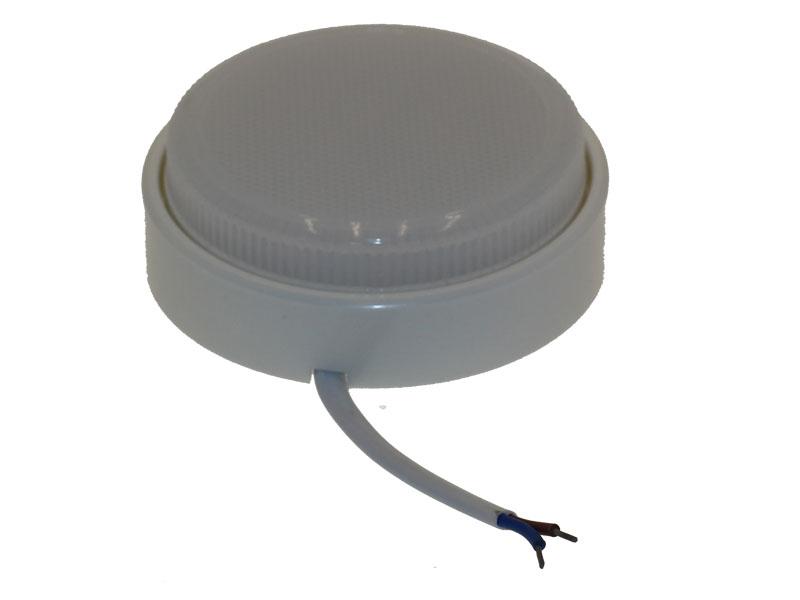 Светильник Ecola пластик накладной DGX5318  белый
