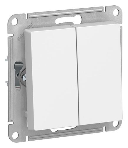 SchE AtlasDesign белый мех-зм выкл. 2кл. 10А