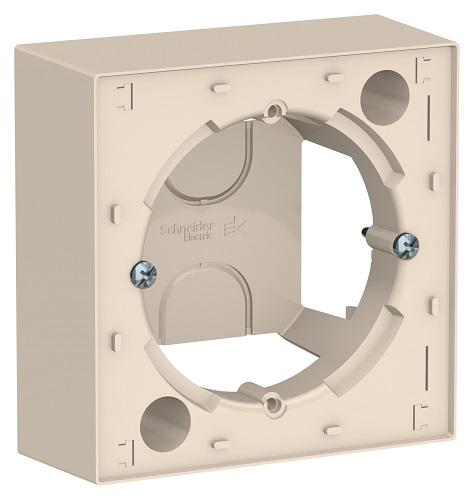 SchE AtlasDesign бежевый коробка для наруж. монтажа