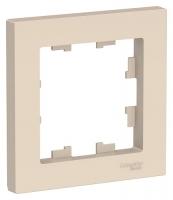SchE AtlasDesign бежевый рамка 1мест.