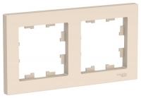 SchE AtlasDesign бежевый рамка 2мест. универс.