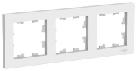 SchE AtlasDesign белый рамка 3мест. универс.