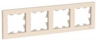 SchE AtlasDesign бежевый рамка 4мест. универс.