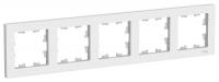 Рамка 5-м Atlas белая